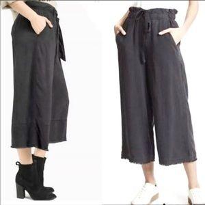(NWOT) Cloth & Stone 100% Linnen Grey Pants (L)